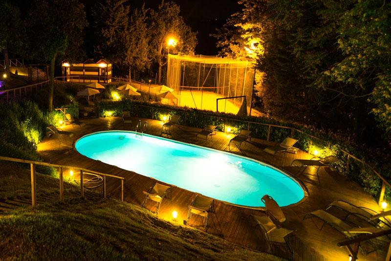 Agriturismo il parco in collina montescudo rimini - Agriturismo rimini con piscina ...