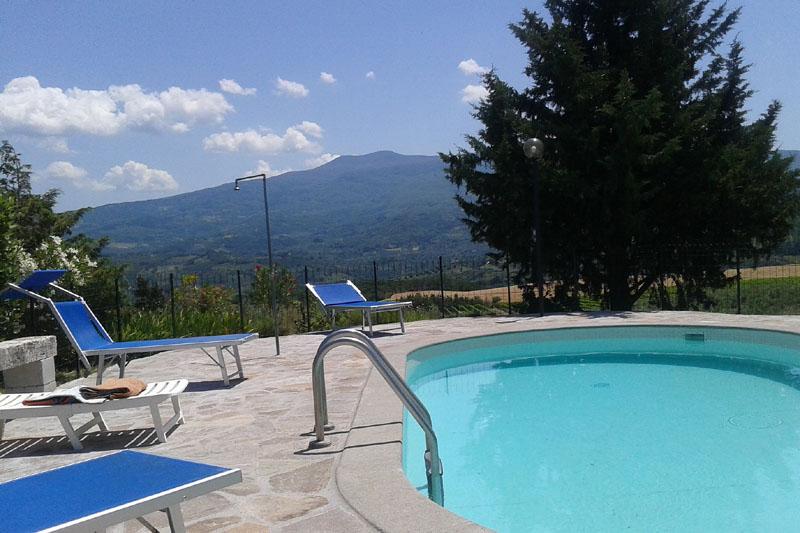 Casa vacanze paradiso d orcia castel del piano grosseto for Disposizione del piano piscina